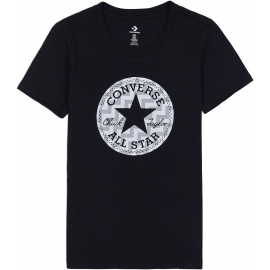 Converse VOLTAGE CHUCK PATCH NOVA TEE - Tricou de damă