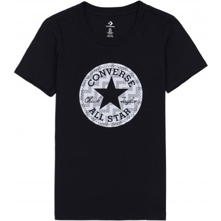 Дамска тениска - Converse VOLTAGE CHUCK PATCH NOVA TEE