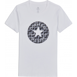 Converse VOLTAGE CHUCK PATCH NOVA TEE - Tricou de femei
