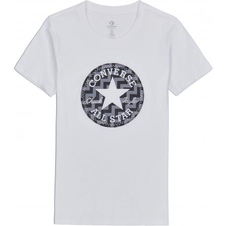 Dámske tričko - Converse VOLTAGE CHUCK PATCH NOVA TEE