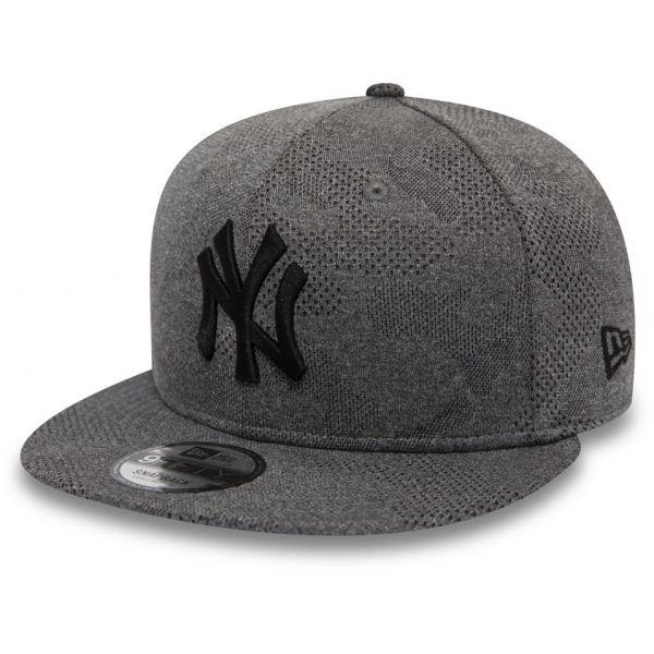 New Era 9FIFTY MLB MLB ENGINEERED PLUS NEW YORK YANKEES szürke M/L - Férfi baseball sapka