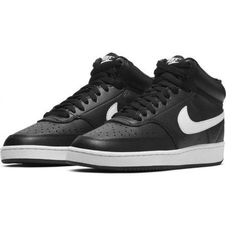 Women's leisure shoes - Nike COURT VISION MID WMNS - 3