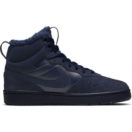 Nike COURT BOROUGH MID 2 BOOT BG - Detská voľnočasová obuv