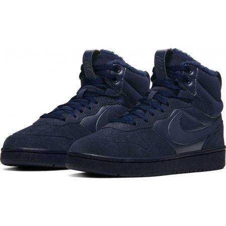 Detská voľnočasová obuv - Nike COURT BOROUGH MID 2 BOOT BG - 3
