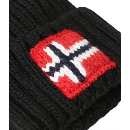 Pánska čiapka - Napapijri SEMIURY 2  BLACK - 3