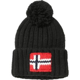 Napapijri SEMIURY 2  BLACK - Pánska čiapka