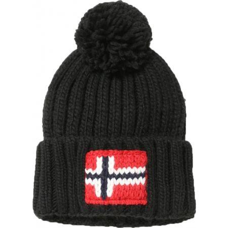 Pánska čiapka - Napapijri SEMIURY 2  BLACK - 1