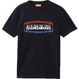 Napapijri SOGY SS BRIGHT WHITE - Pánske tričko