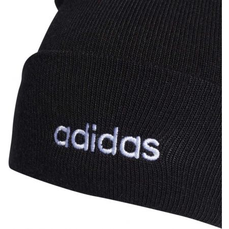 Čepice - adidas LIGHT BEANIE RIB WITH ROLL UP - 3