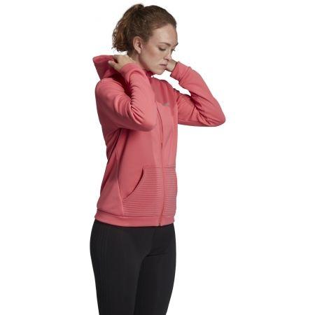 Dámská mikina - adidas WOMEN GEAR UP FULL ZIP HOODIE - 5