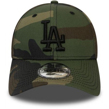 Pánska klubová šiltovka - New Era 9FORTY MLB CAMO ESSENTIAL LOS ANGELES DODGERS - 2