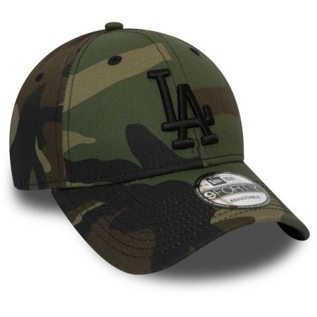 Pánska klubová šiltovka - New Era 9FORTY MLB CAMO ESSENTIAL LOS ANGELES DODGERS - 3