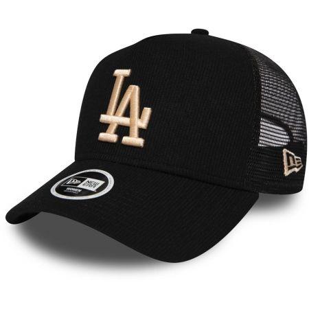 Dámská klubová truckerka - New Era 9FORTY WAF TRUCKER MLB RIBBED JERSEY LOS ANGELES DODGERS - 1