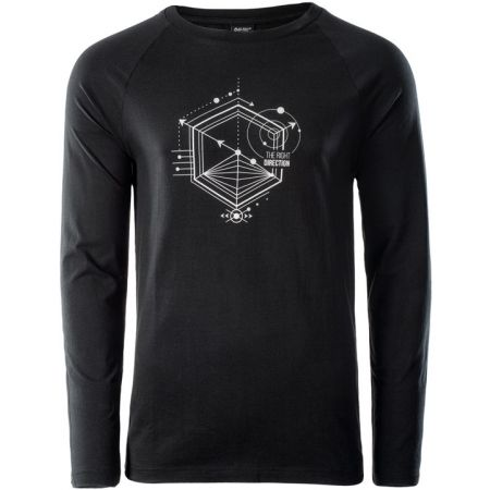 Hi-Tec SOLERO LS - Pánske tričko s dlhým rukávom