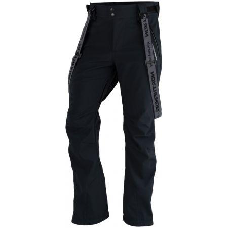 Pánske softshellové lyžiarske nohavice - Northfinder LUX - 1