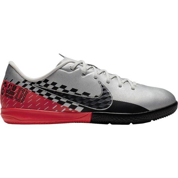 Nike JR MERCURIAL VAPOR 13 ACADEMY NEYMAR JR IC šedá 4 - Dětské sálovky