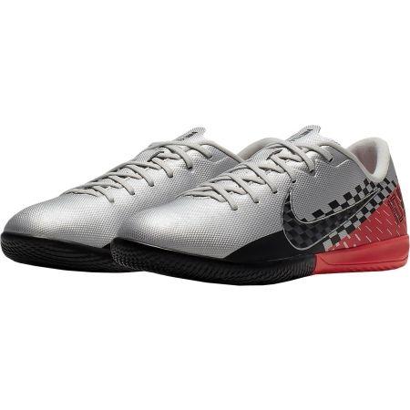 Obuwie piłkarskie halowe dziecięce - Nike JR MERCURIAL VAPOR 13 ACADEMY NEYMAR JR IC - 3