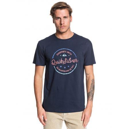 Pánske tričko - Quiksilver MENTAL NOTES SS - 1
