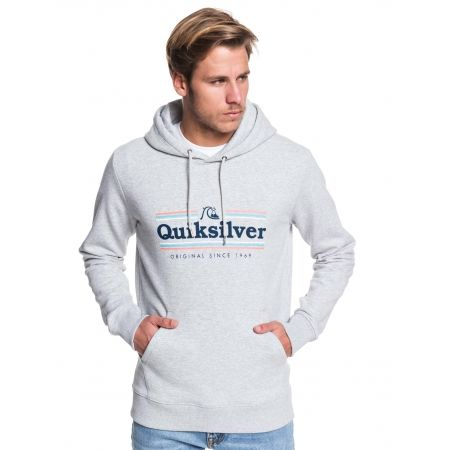 Pánská mikina - Quiksilver GET BUZZY SCREEN FLEECE - 1