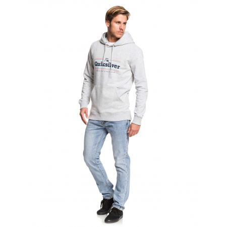 Мъжки суитшърт - Quiksilver GET BUZZY SCREEN FLEECE - 4