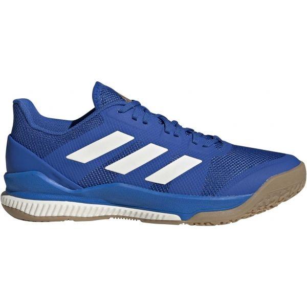 adidas STABIL BOUNCE modrá 11.5 - Pánská sálová obuv