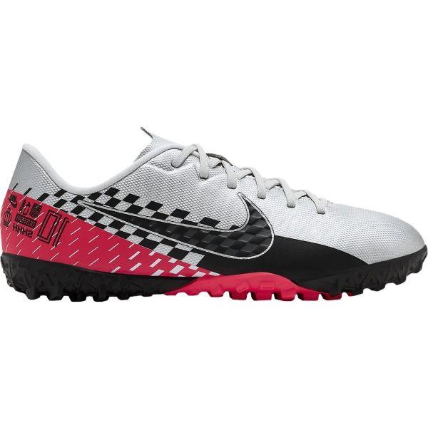 Nike MERCURIAL VAPOR 13 ACADEMY NEYMAR JR TF bílá 4Y - Dětské turfy