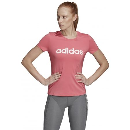 Dámské tričko - adidas W D2M LO TEE - 4