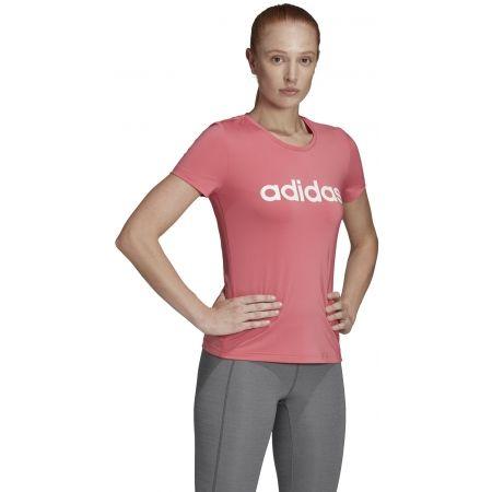 Dámské tričko - adidas W D2M LO TEE - 6