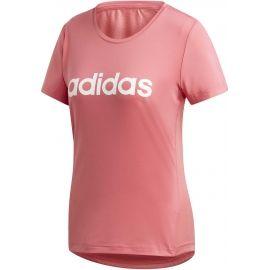 adidas W D2M LO TEE - Dámské tričko