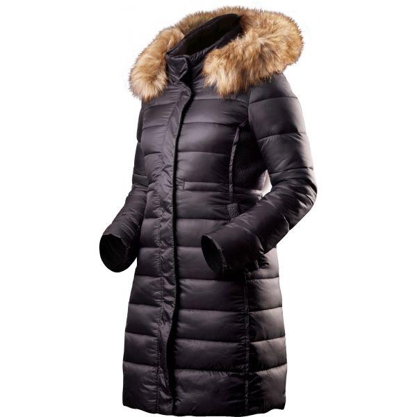 TRIMM VILMA čierna Dámsky zimný kabát S Trimm