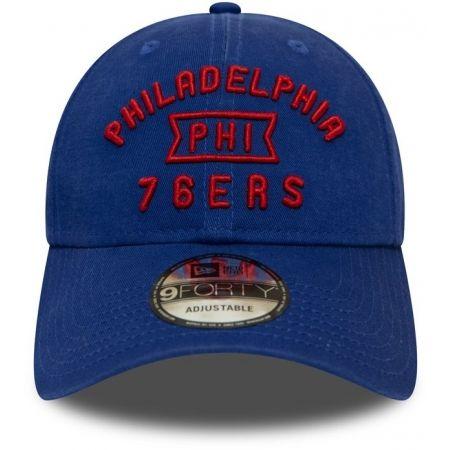 Pánská klubová kšiltovka - New Era 9FORTY NBA VINTAGE TEAM FRONT PHILADELPHIA 76ERS - 2