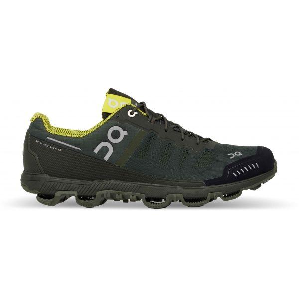 ON CLOUDVENTURE tmavě zelená 8 - Pánská běžecká obuv
