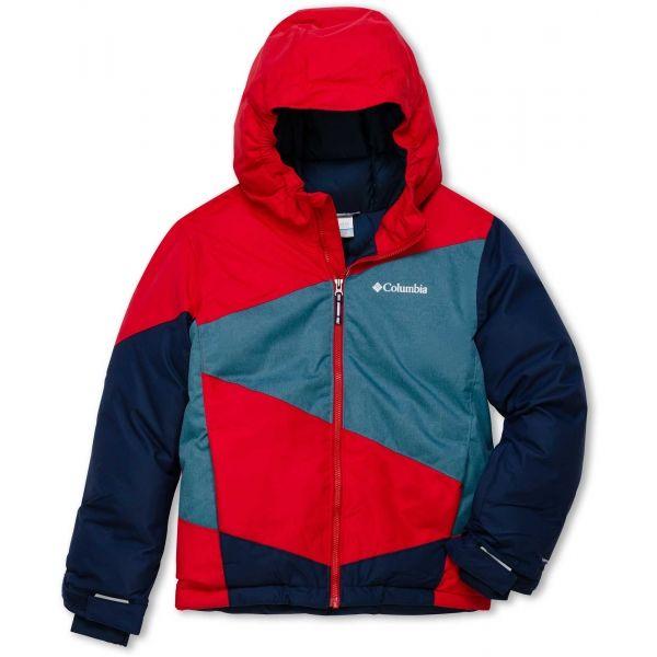 Columbia WILDSTAR JACKET - Chlapčenská zimná bunda