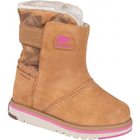 Sorel YOUTH RYLEE  CAMO - Gyerek téli cipő