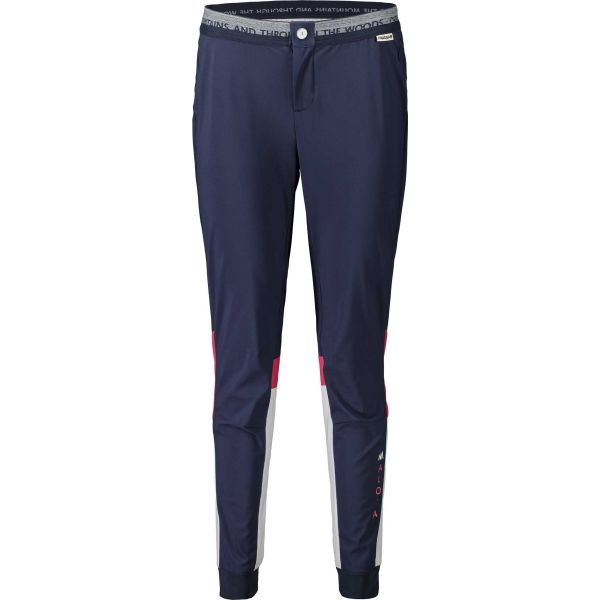 Maloja LADINAM tmavě modrá L - Dámské kalhoty na běžky