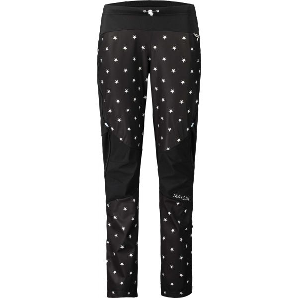 Maloja NANINAM černá S - Dámské kalhoty na běžky
