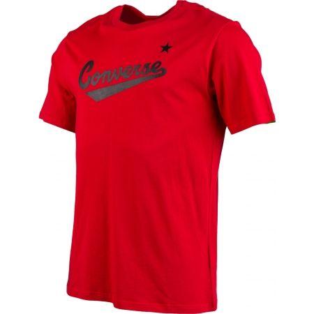 Мъжка тениска - Converse CENTER FRONT LOGO TEE - 2