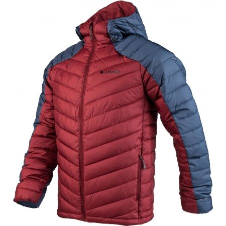 Pánská zateplená bunda - Columbia HORIZON EXPLORER HOODED JACKET - 2