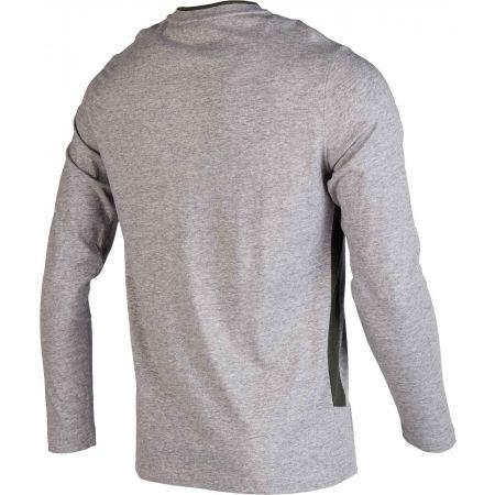 Мъжка блуза - Lotto LOGO II TEE LS MEL JS - 3