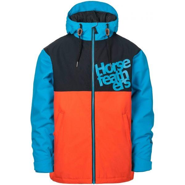 Horsefeathers ATOL YOUTH JACKET oranžová XL - Chlapčenská lyžiarska/snowboardová bunda