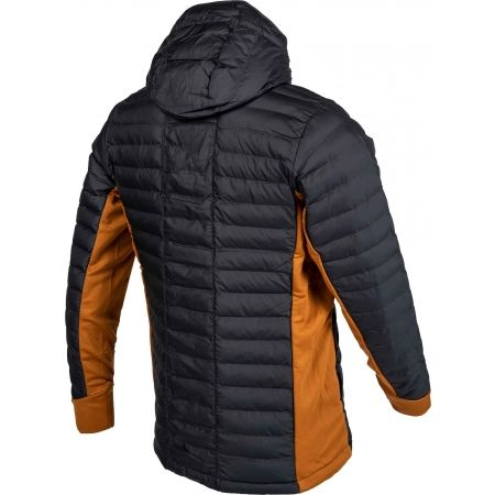 Geacă de bărbați - Columbia POWDER PILLOW HYBRID HOODED JACKET - 3