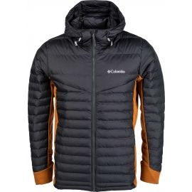Columbia POWDER PILLOW HYBRID HOODED JACKET - Férfi kabát