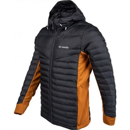 Geacă de bărbați - Columbia POWDER PILLOW HYBRID HOODED JACKET - 2