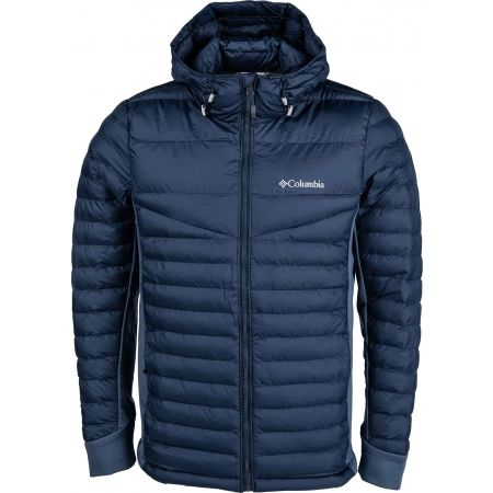 Columbia POWDER PILLOW HYBRID HOODED JACKET - Pánská bunda