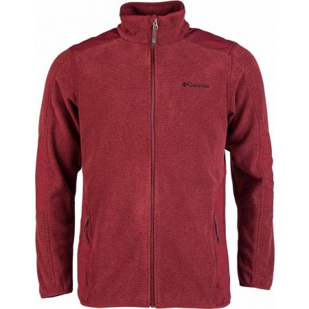 Columbia TOUGH HIKER FULL ZIP FLEECE - Pánska flísová mikina