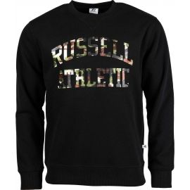 Russell Athletic CAMO PRINTED CREWNECK SWEATSHIRT - Pánska mikina