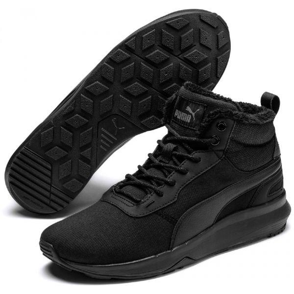 Puma ST ACTIVATE MID WTR černá 7.5 - Pánská zimní obuv