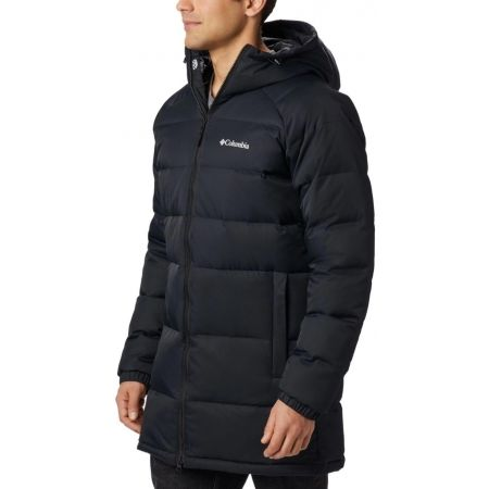 Men's winter jacket - Columbia MACLEAY DOWN LONG JACKET - 2