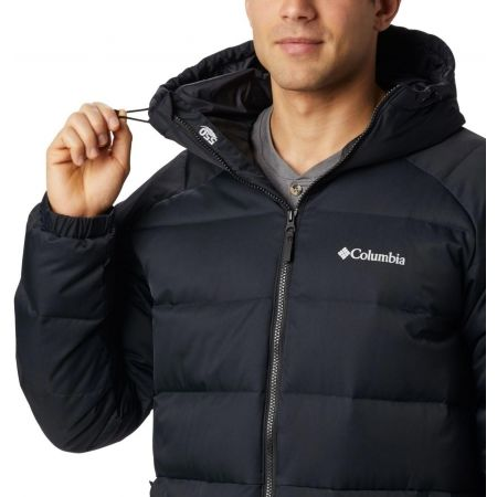 Men's winter jacket - Columbia MACLEAY DOWN LONG JACKET - 4