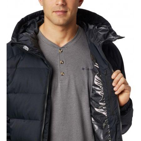 Men's winter jacket - Columbia MACLEAY DOWN LONG JACKET - 5